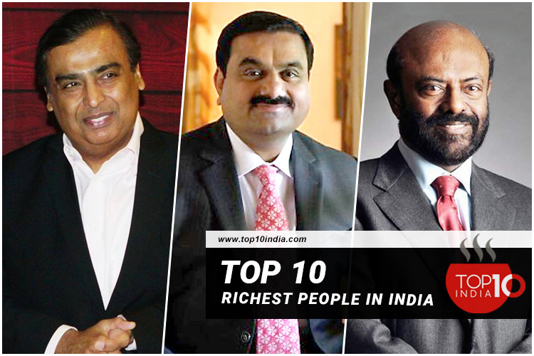 Top 10 Richest People in India