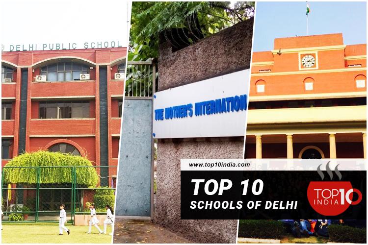 Top 10 Schools of Delhi