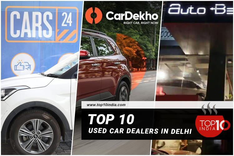 Top 10 Used Car Dealers in Delhi