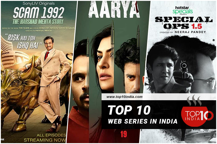 Here's to the top 10 web series in India.