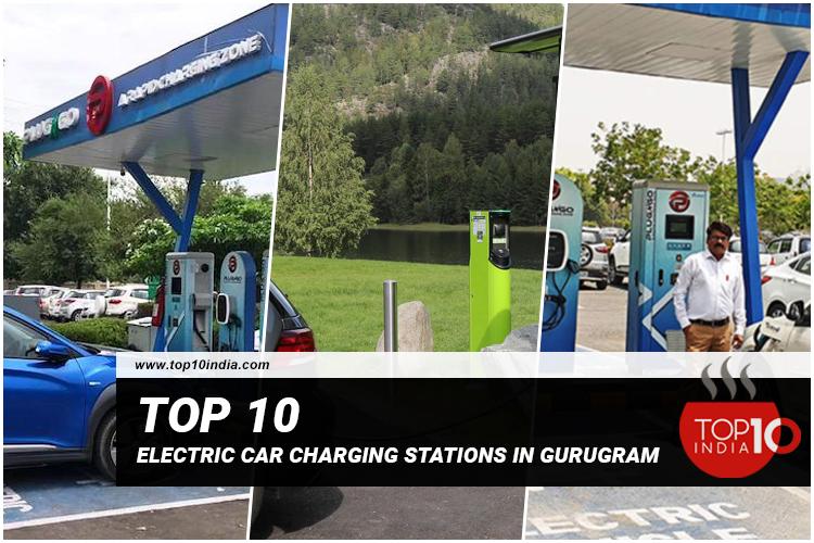 Top 10 Electric Car Charging Stations in Gurugram