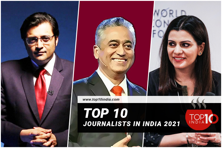 List of Top 10 Journalists in India 2021
