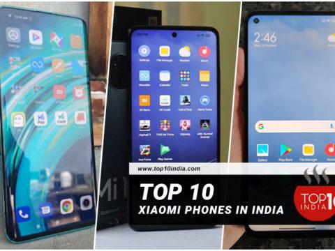 List of Top 10 Xiaomi Phones In India 2021
