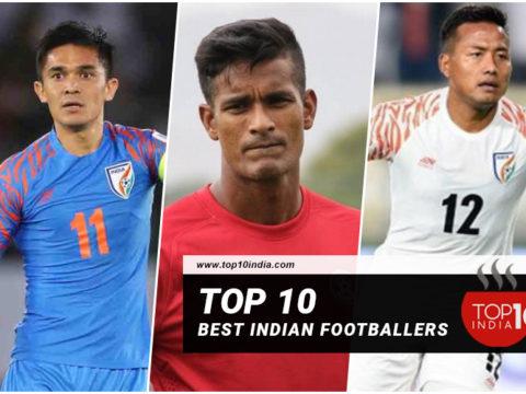 Top 10 Best Indian Footballers