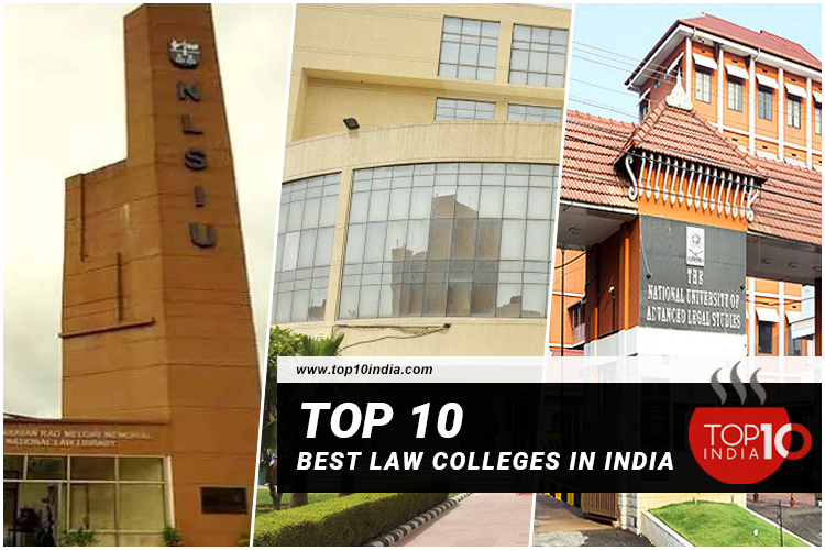 Top 10 Best Law Colleges in India