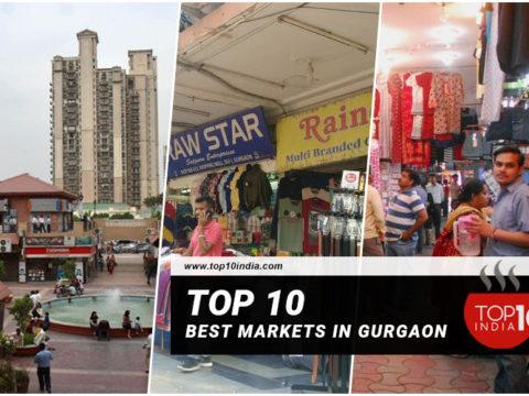 Top 10 Best Markets In Gurgaon