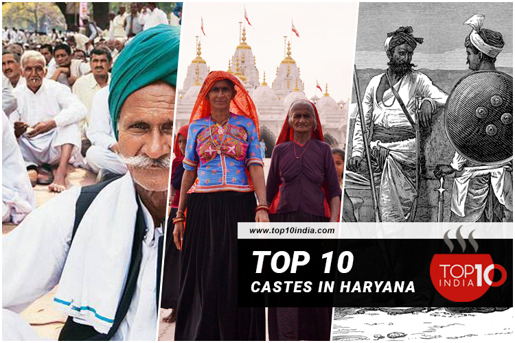 Top 10 Castes in Haryana