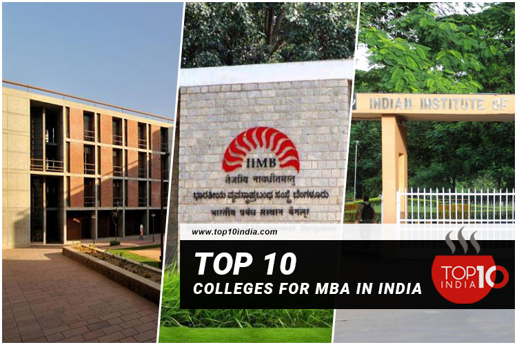 Top 10 Colleges For MBA in India