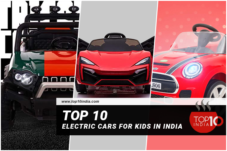 Top 10 Electric Cars For Kids In India