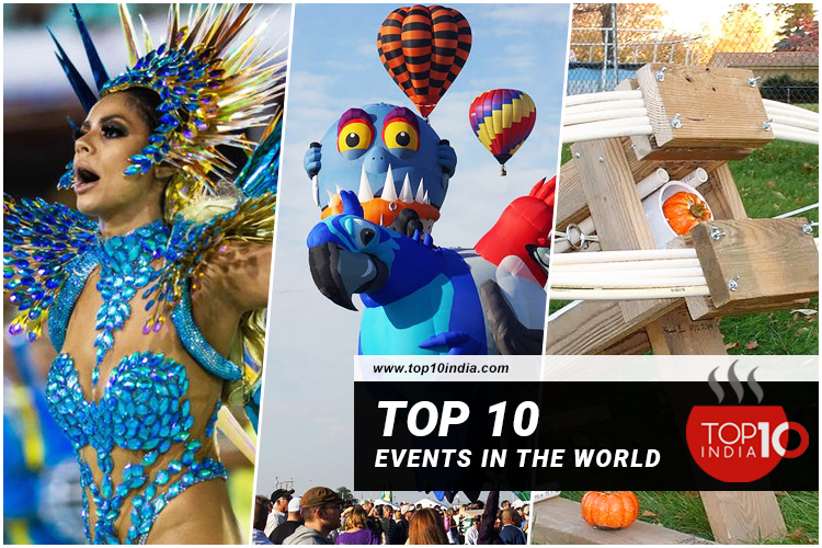 Top 10 Events in the World