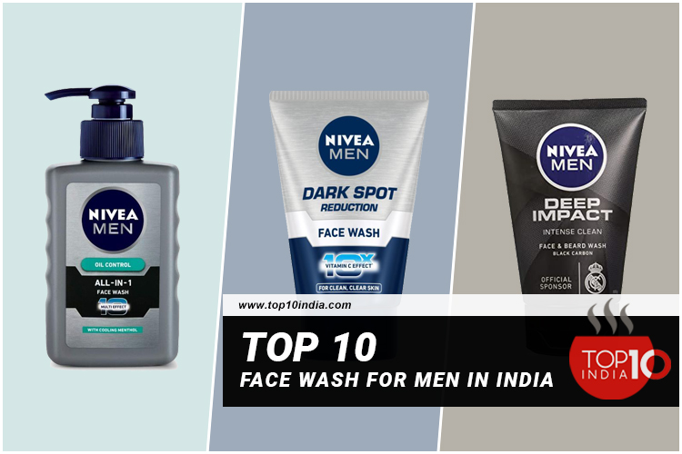 Top 10 Face Wash for Men In India
