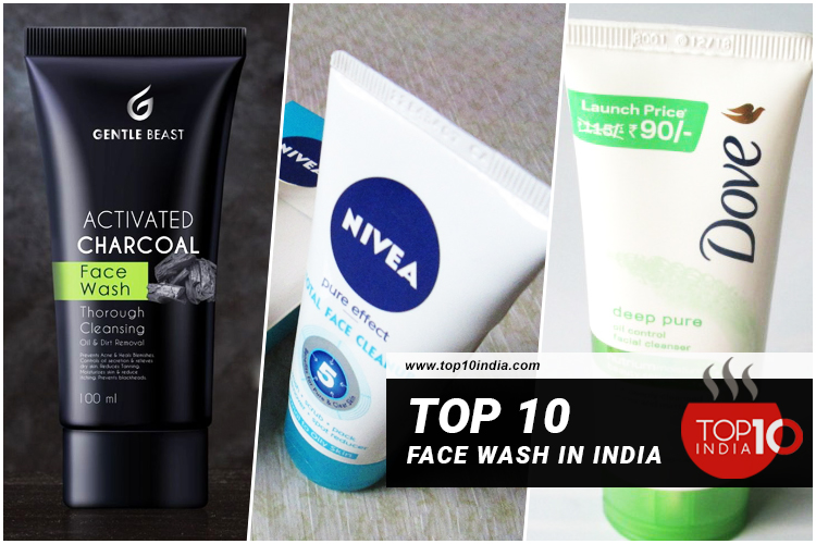 Top 10 Face Wash in India