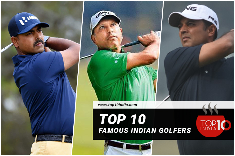 Top 10 Famous Indian Golfers