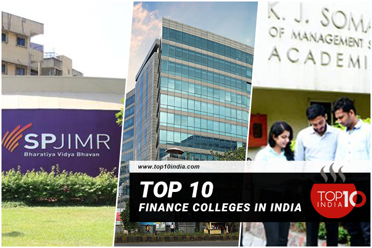 Top 10 Finance Colleges in India