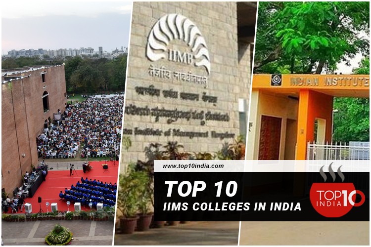 Top 10 IIMs Colleges in India