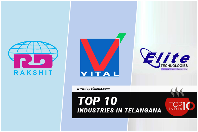Top 10 Industries In Telangana