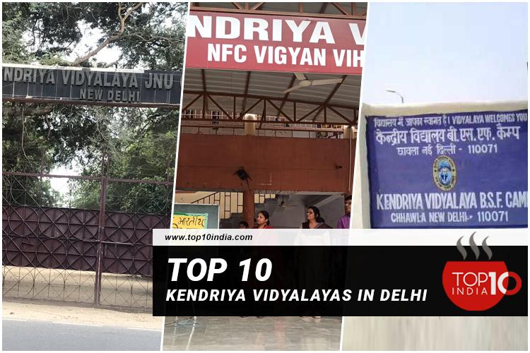Top 10 Kendriya Vidyalayas in Delhi