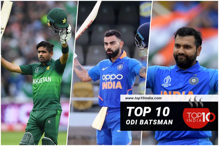 Top 10 ODI Batsman