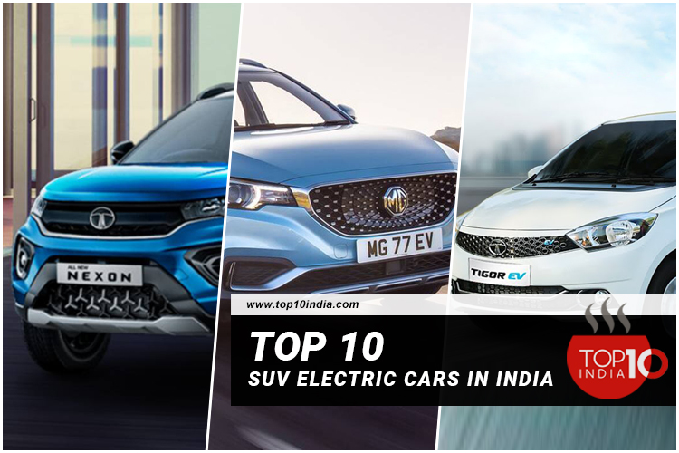 Top 10 SUV Electric Cars In India