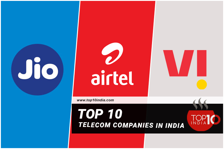 Top 10 Telecom companies in India