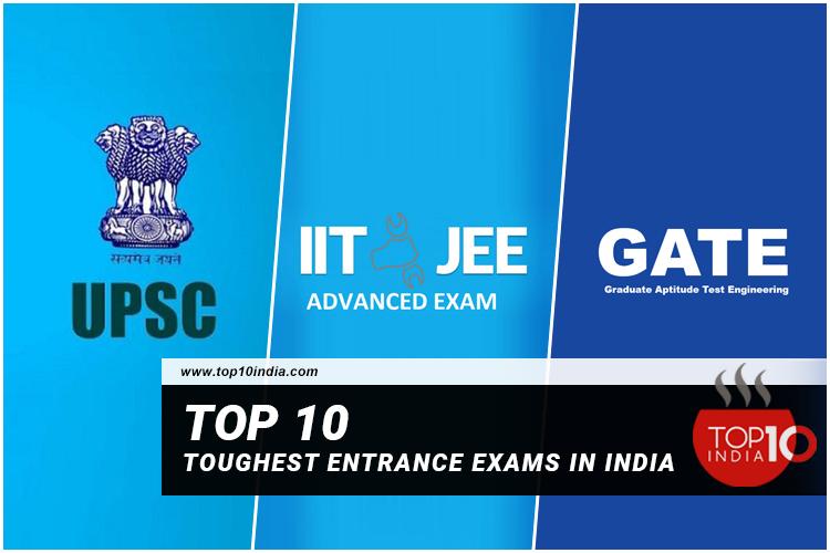 Top 10 Toughest Entrance Exams In India