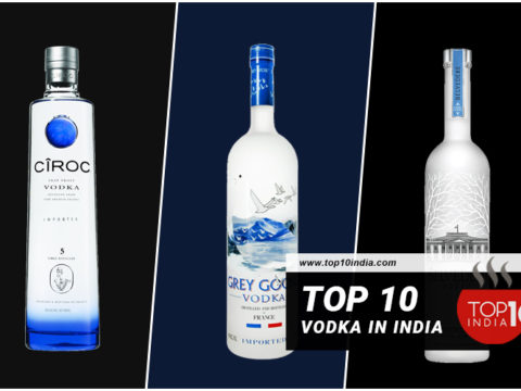 Top 10 Vodka in India