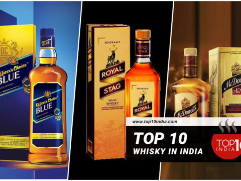Top 10 Whisky in India