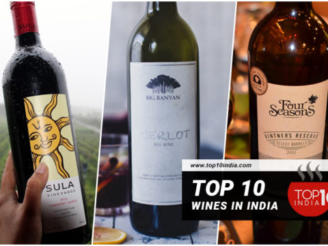 Top 10 Wines in India