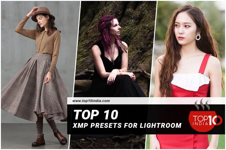 Top 10 XMP Presets For Lightroom