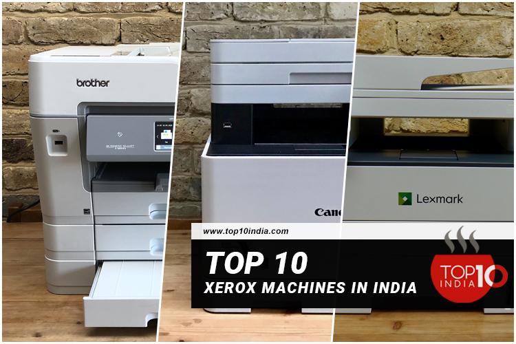 List of Top 10 Xerox Machines in India