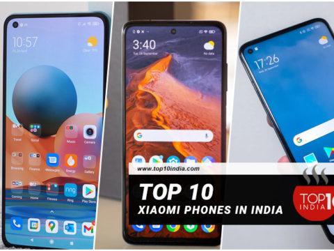 Top 10 Xiaomi Phones In India