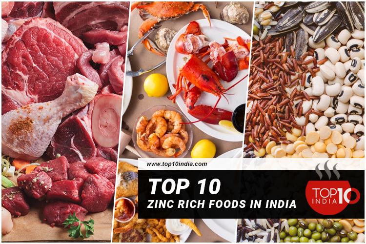 Top 10 Zinc Rich Foods In India