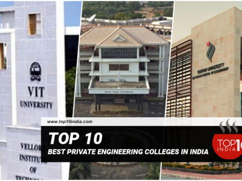 List of Top 10 Best Private Engineering Colleges In India