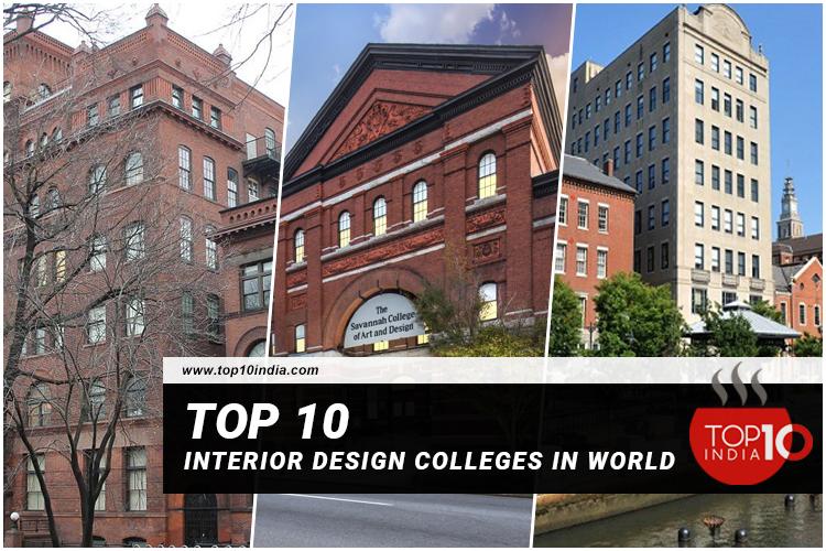 List of Top 10 Interior Design Colleges In World