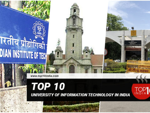 Top 10 University of Information Technology in India