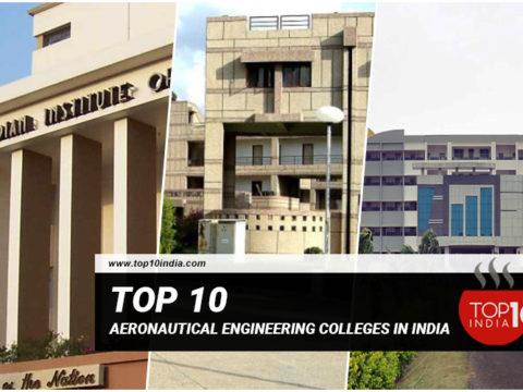 Top 10 Aeronautical Engineering Colleges in India