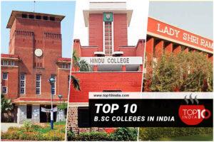 Top 10 B.Sc Colleges in India