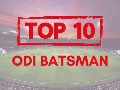 Top 10 Best ODI Indian Batsmen