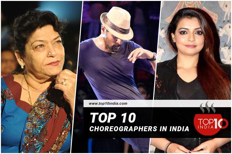 Top 10 Choreographers in India