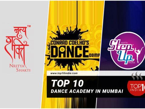 Top 10 Dance Academy In Mumbai