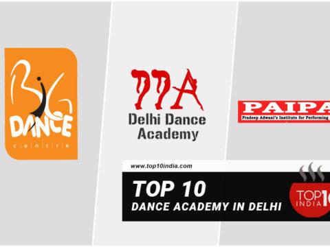 Top 10 Dance Academy in Delhi