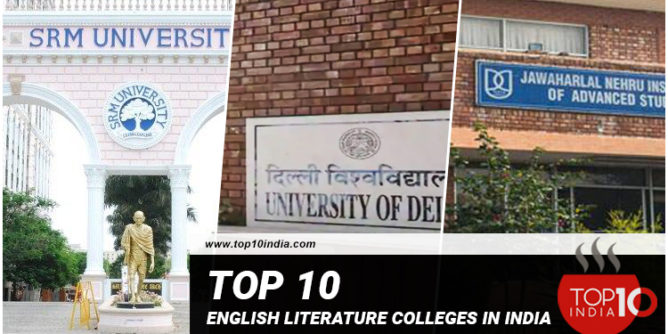 Top 10 English Literature Colleges in India