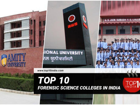 Top 10 Forensic Science Colleges in India