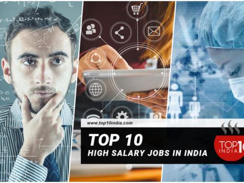 Top 10 High Salary Jobs In India