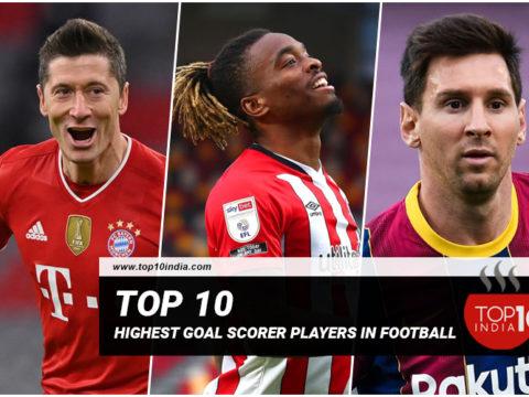Top 10 Highest Goal Scorer Players in Football