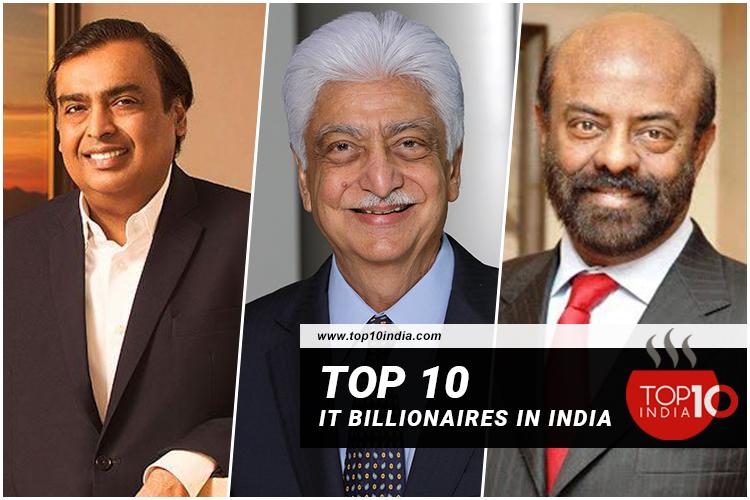 Top 10 IT Billionaires in India