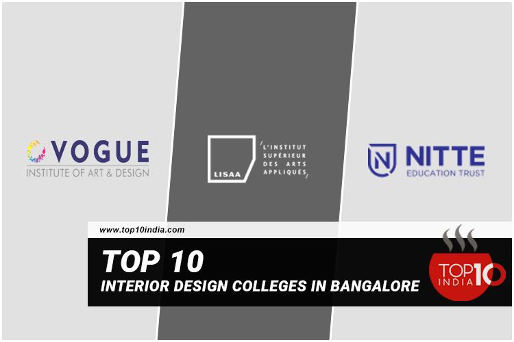 Top 10 Interior Design Colleges In Bangalore