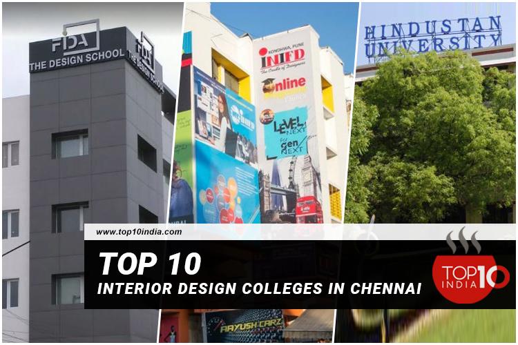 Top 10 Interior Design Colleges In Chennai