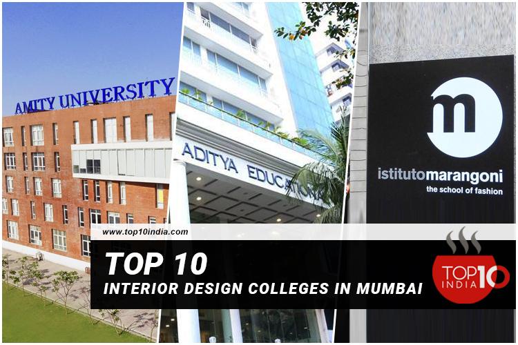 Top 10 Interior Design Colleges In Mumbai