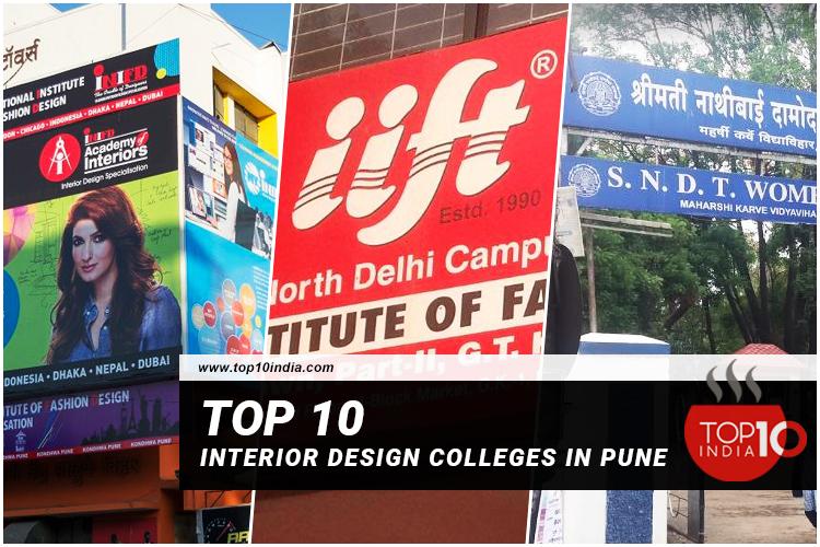 Top 10 Interior Design Colleges In Pune
